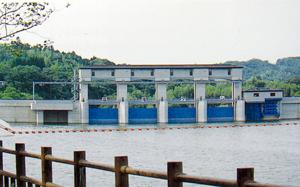 高滝ダムで貯水開始
